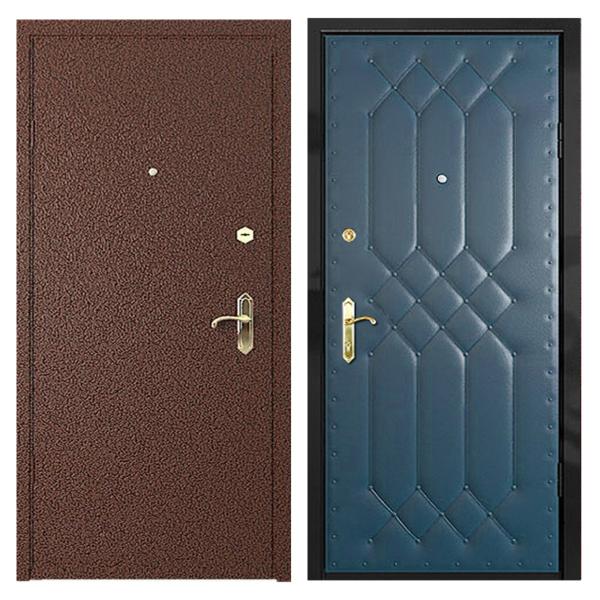 Входная металлическая дверь PVD-001 (порошковое напыление + винилискожа)