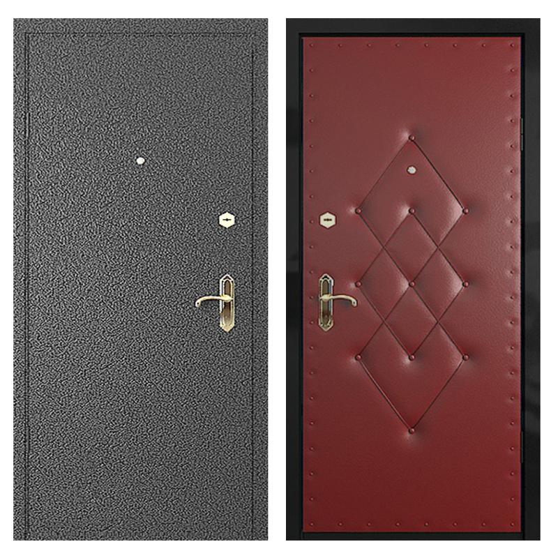Входная металлическая дверь PVD-002 (порошковое напыление + винилискожа)