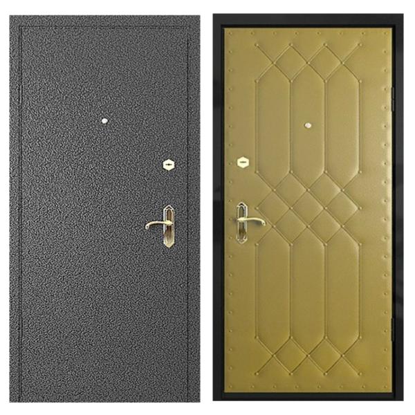 Входная металлическая дверь PVD-003 (порошковое напыление + винилискожа)