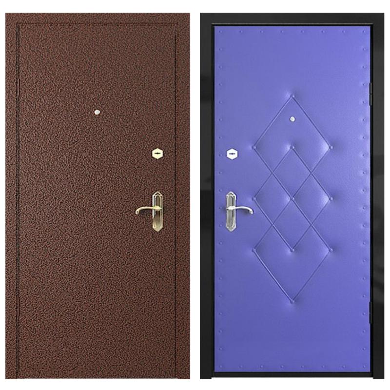 Входная металлическая дверь PVD-004 (порошковое напыление + винилискожа)