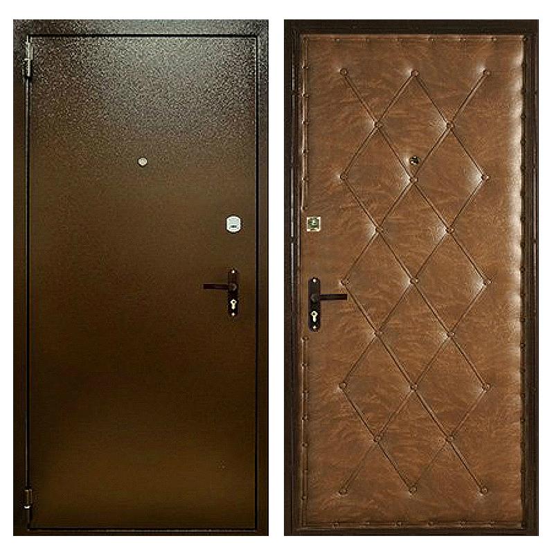 Входная металлическая дверь PVD-006 (порошковое напыление + винилискожа)