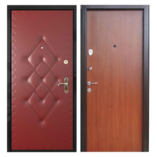 Входная металлическая дверь VDL-002 (винилискожа + ламинированная панель)