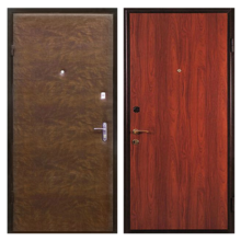 Входная металлическая дверь VL-004 (винилискожа + ламинированная панель)