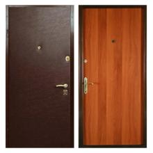 Входная металлическая дверь VL-005 (винилискожа + ламинированная панель)