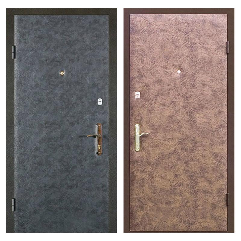 Входная металлическая дверь VV-001 (винилискожа + винилискожа)