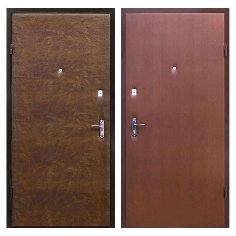 Входная металлическая дверь VV-002 (винилискожа + винилискожа)