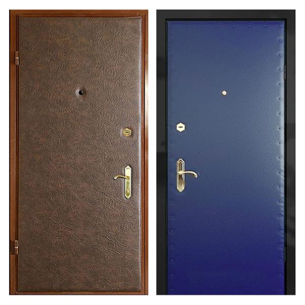 Входная металлическая дверь VV-003 (винилискожа + винилискожа)