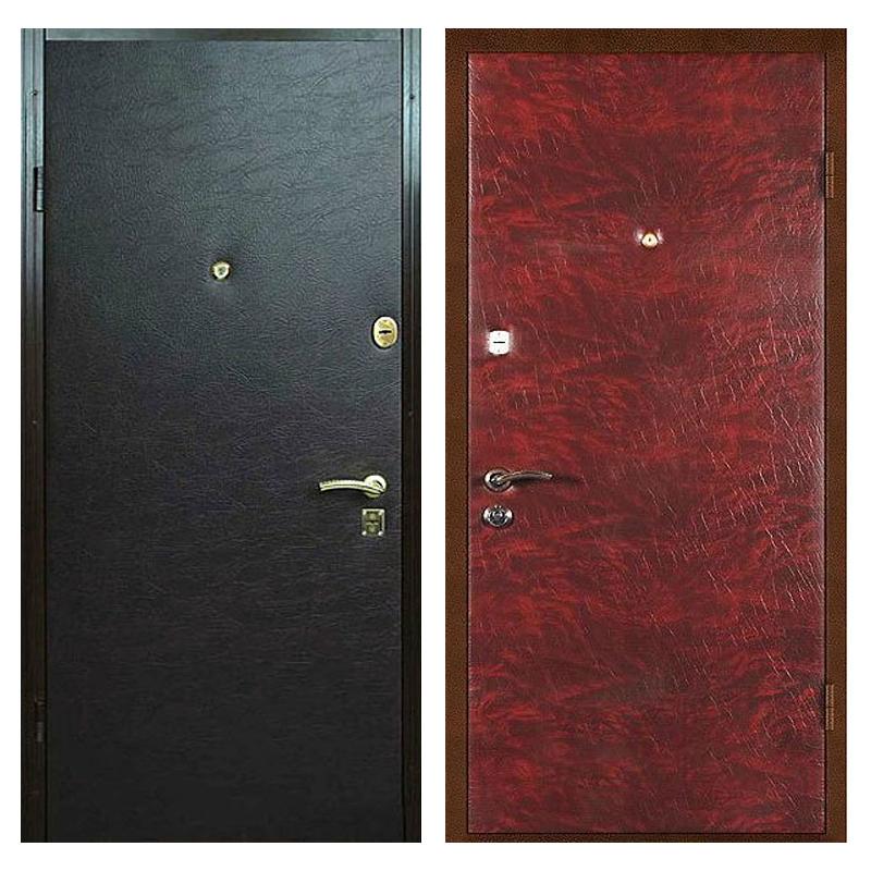 Входная металлическая дверь VV-004 (винилискожа + винилискожа)