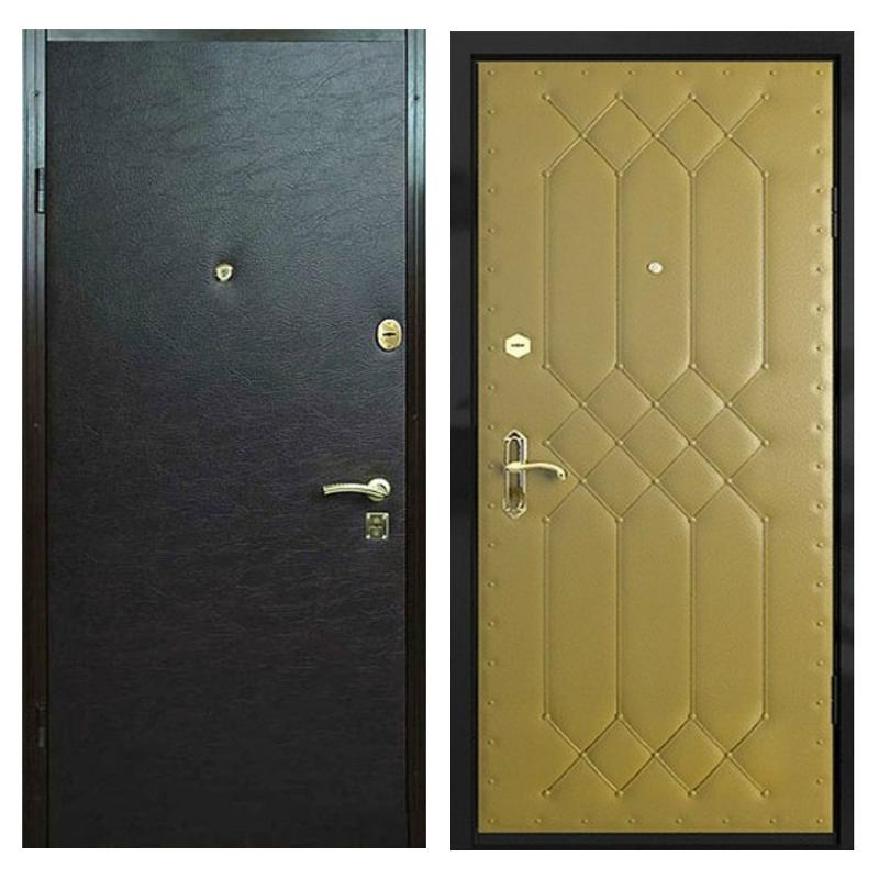 Входная металлическая дверь VVD-005 (винилискожа + винилискожа)