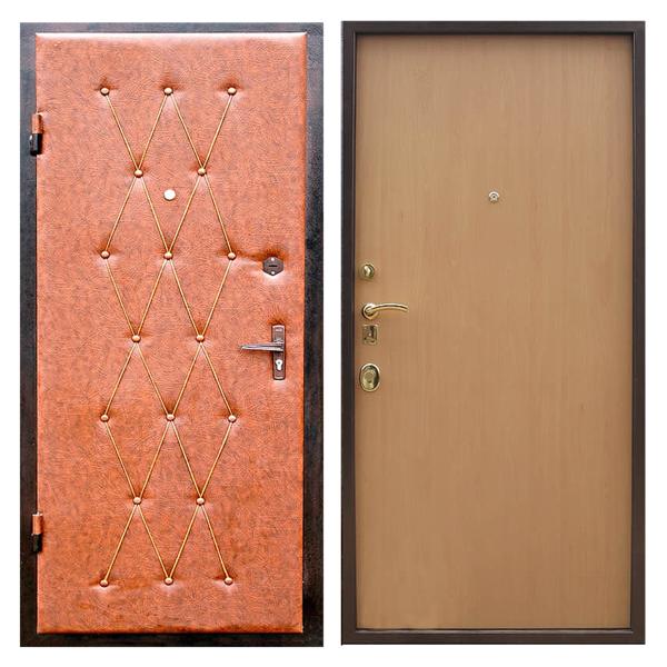 Входная металлическая дверь VDL-003 (винилискожа + ламинированная панель)