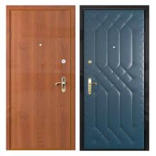 Входная металлическая дверь VDL-004 (винилискожа + ламинированная панель)