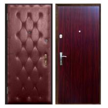 Входная металлическая дверь VDL-005 (винилискожа + ламинированная панель)