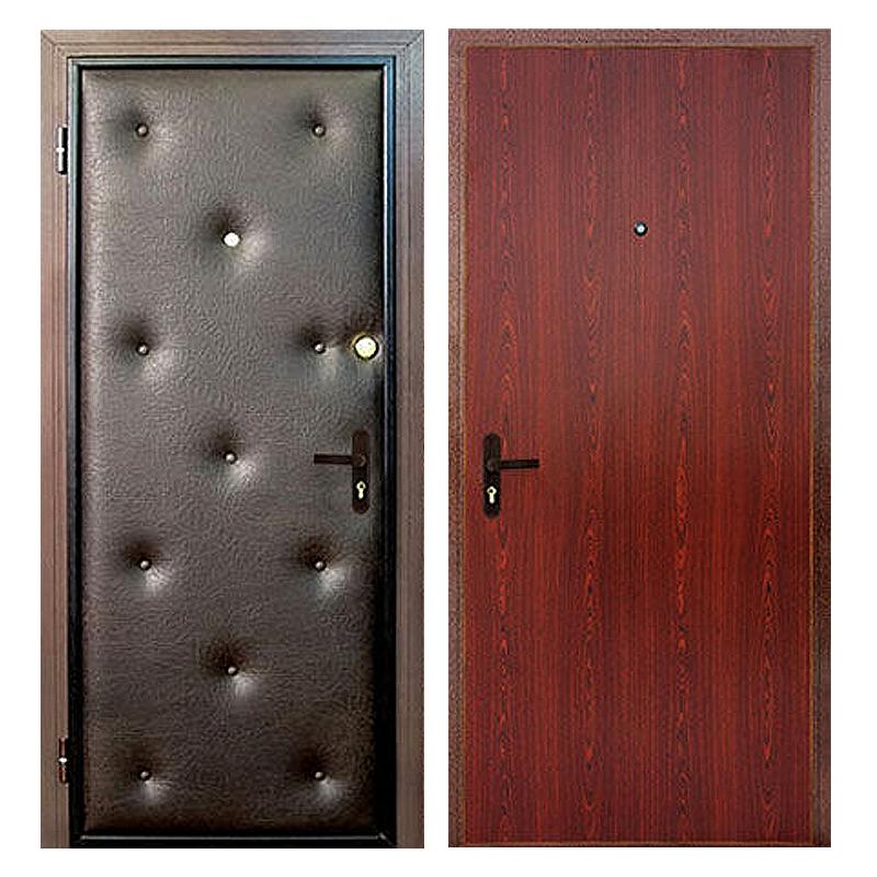 купить Входная металлическая дверь VDL-006 (винилискожа + ламинированная панель)