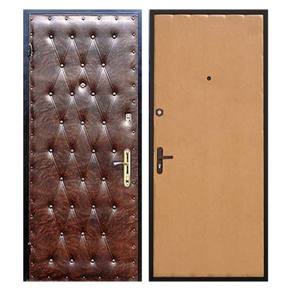 купить входную металлическую дверь VDL-003 (винилискожа + ламинированная панель)