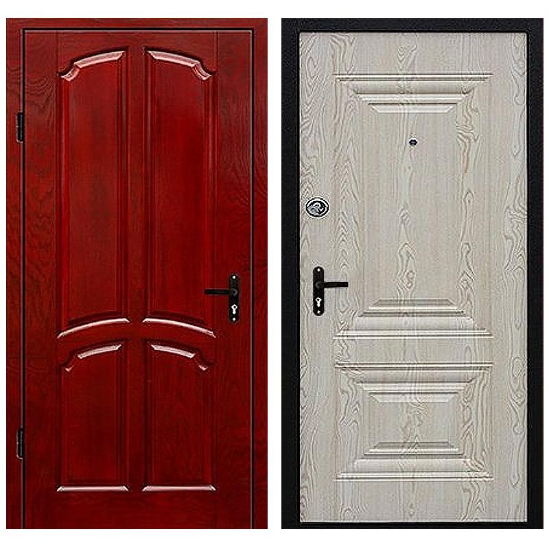 Входная металлическая дверь DM-024 (МДФ панель снаружи и внутри)