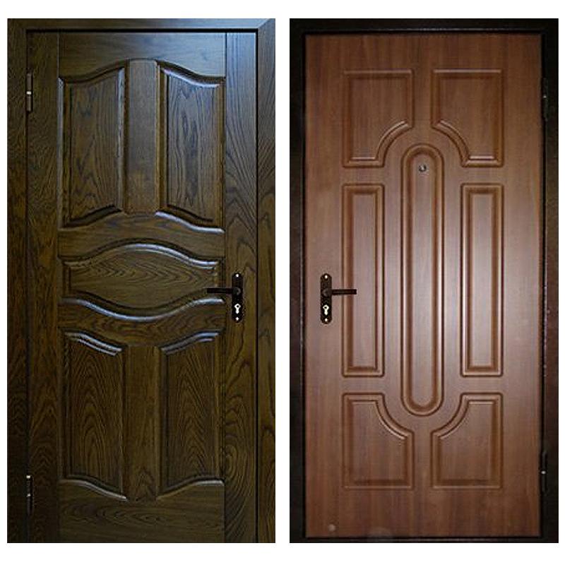 Входная металлическая дверь DM-025 (МДФ панель снаружи и внутри)
