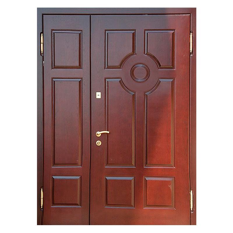 Входная подъездная металлическая дверь DM-037 (МДФ + винилискожа)