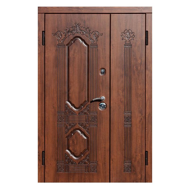 Входная подъездная металлическая дверь DM-038 (МДФ + винилискожа)