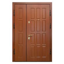 Подъездная металлическая дверь DM-041 (МДФ + винилискожа)