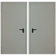 Металлическая противопожарная дверь DM-042 (порошковое напыление )