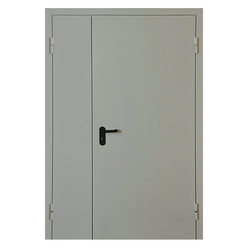 Металлическая противопожарная дверь DM-044 (порошковое напыление )
