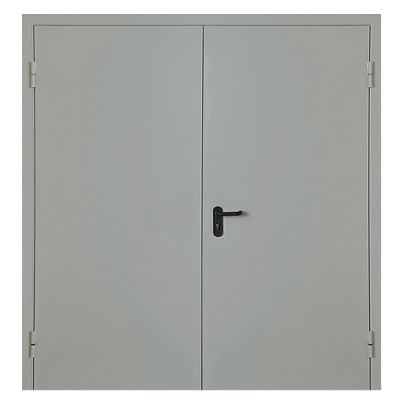 Металлическая противопожарная дверь DM-046 (порошковое напыление )