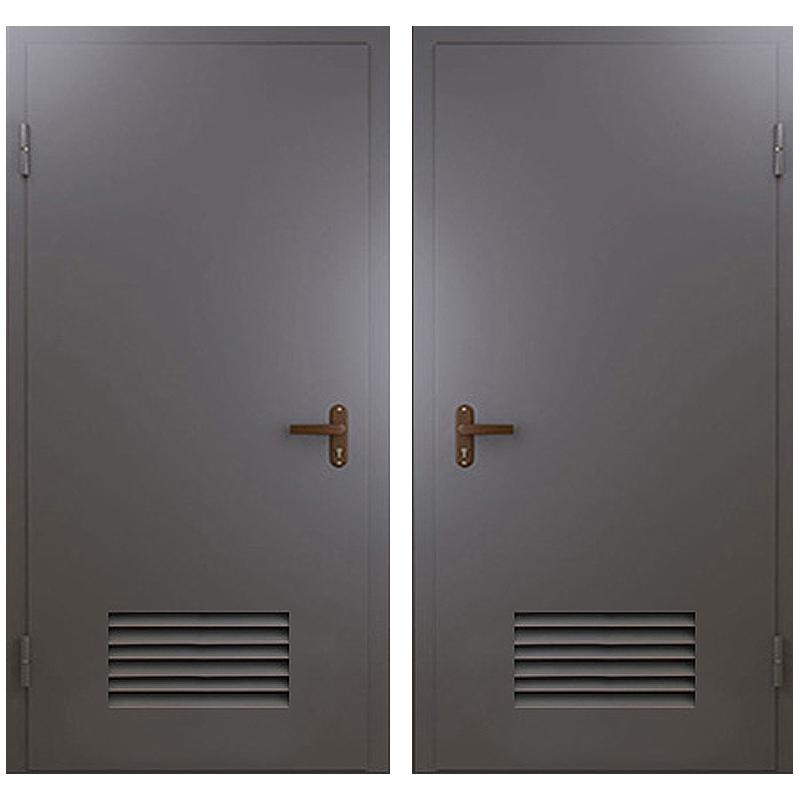 Техническая металлическая дверь TD-002 (нитроэмаль снаружи и внутри)